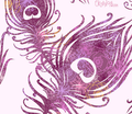 Rrrrrrpurple_feathers_silhouettes_seamless_pattern_sf_fabric_comment_117756_thumb