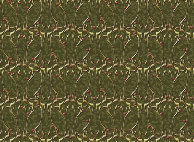 nouveau_rowan fabric by glimmericks on Spoonflower - custom fabric