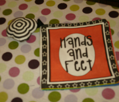 Hands and Feet cloth book
