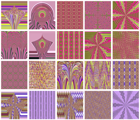 Color_Purple_Blocks fabric by maria_t on Spoonflower - custom fabric