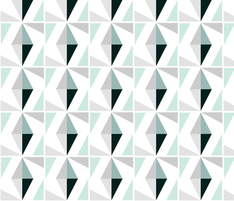 diamonds in square fabric by miss_honeybird on Spoonflower - custom fabric