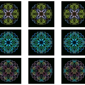 kaleidoscope blocks