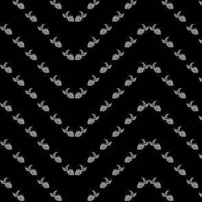 goldfish chevron stripe