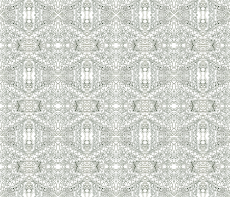 Naked Came the Diamonds and Twists fabric by edsel2084 on Spoonflower - custom fabric