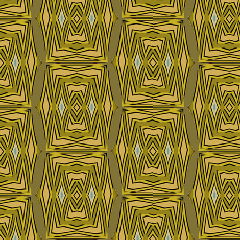 African Village (Tree) fabric by david_kent_collections on Spoonflower - custom fabric