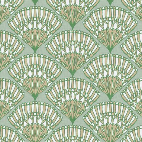 fan_linen fabric by kezia on Spoonflower - custom fabric