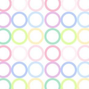 Rainbow Pastel - Circlets -  © PinkSodaPop 4ComputerHeaven.com