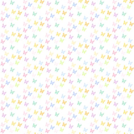 Rainbow Pastel - Butterflies -  © PinkSodaPop 4ComputerHeaven.com