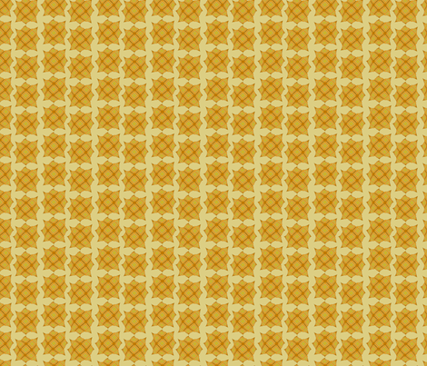 Startartan (Yellow) fabric by david_kent_collections on Spoonflower - custom fabric