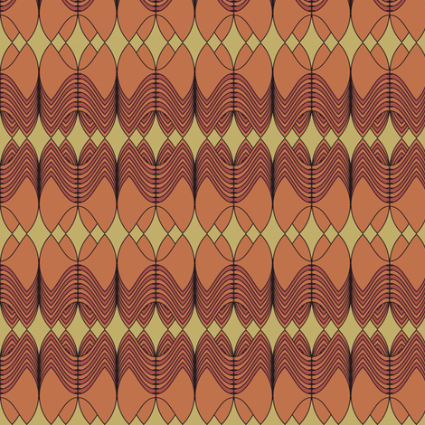 Royal Imperative (Dust) fabric by david_kent_collections on Spoonflower - custom fabric