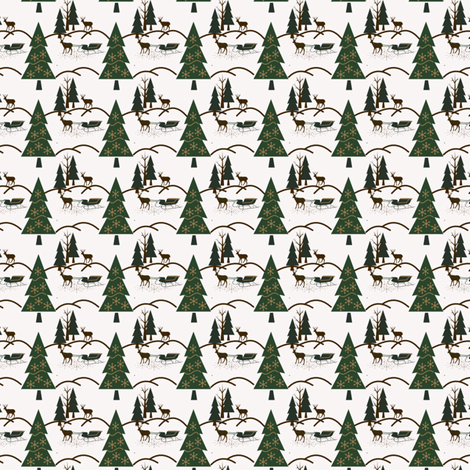 jingle bells fabric by melissamarie on Spoonflower - custom fabric