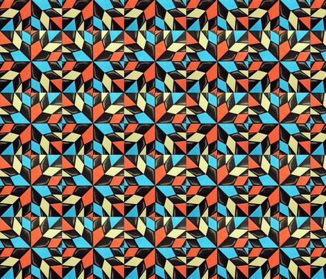 kitedoscope1 fabric by iszart on Spoonflower - custom fabric