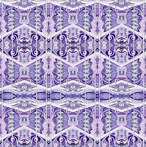 Victorian Lavender fabric by edsel2084 on Spoonflower - custom fabric