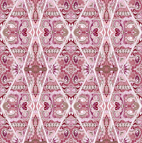 In the Pink fabric by edsel2084 on Spoonflower - custom fabric