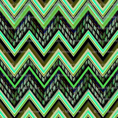 Chevron Verde