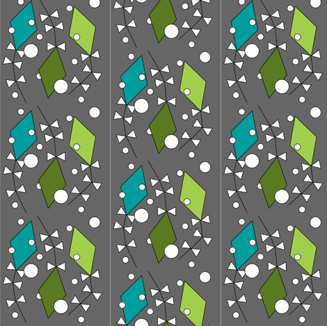 Up & Away fabric by cil on Spoonflower - custom fabric