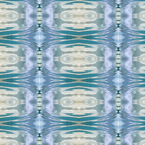 under water fabric by glennis on Spoonflower - custom fabric