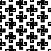 Black Swastikas