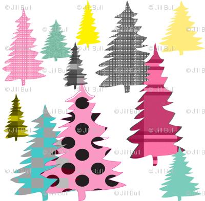 Colorful Coniferous ©2014 Jill Bull
