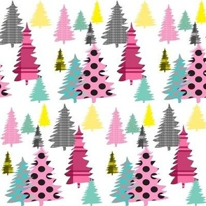 Colorful Coniferous ©2014 Jill Bull