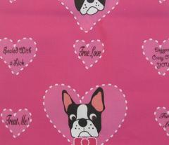 Pink Valentine Bostons