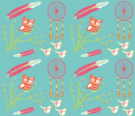 plucked fabric by krydell on Spoonflower - custom fabric