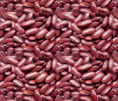Red-Beans fabric by nola_original on Spoonflower - custom fabric