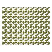 Small print Ginko leaves