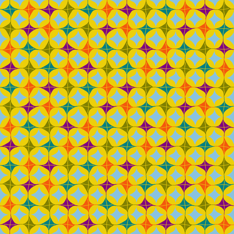 Kite Diamonds fabric by kdl on Spoonflower - custom fabric