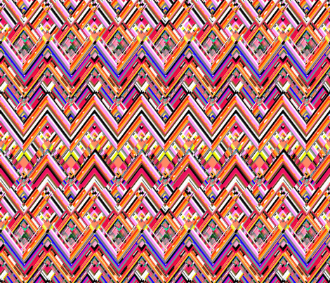 Sangria Southwest fabric by joanmclemore on Spoonflower - custom fabric