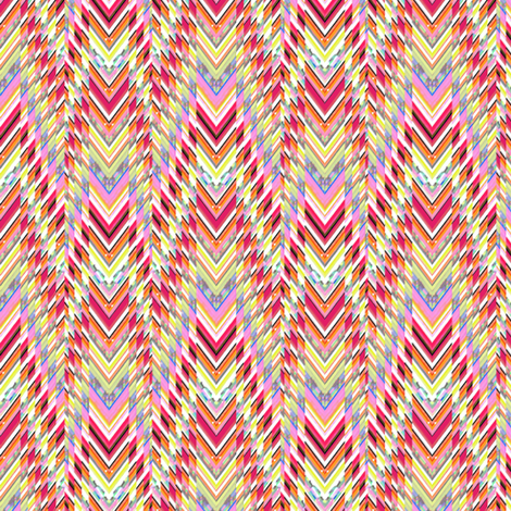 Technicolor Southwest Chevron fabric by joanmclemore on Spoonflower - custom fabric