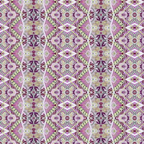 Old Victorian Times (smallest scale, pinks) fabric by edsel2084 on Spoonflower - custom fabric