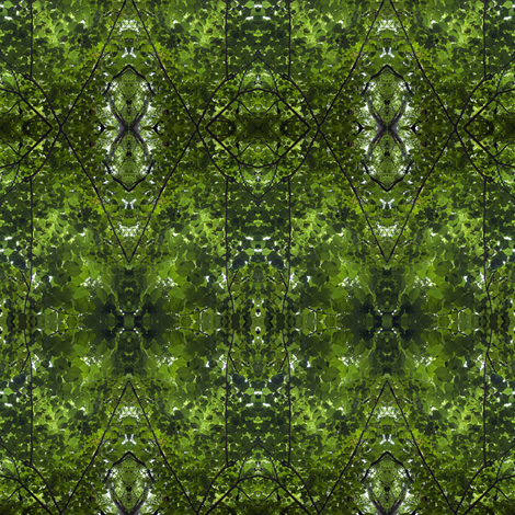 leaves fabric by glennis on Spoonflower - custom fabric