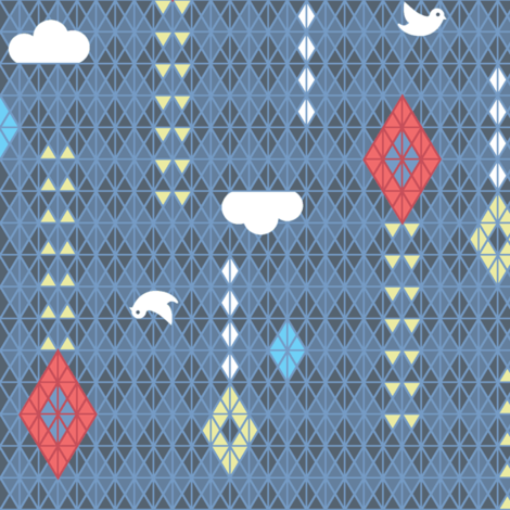 kitedoscopic fabric by jtterwelp on Spoonflower - custom fabric