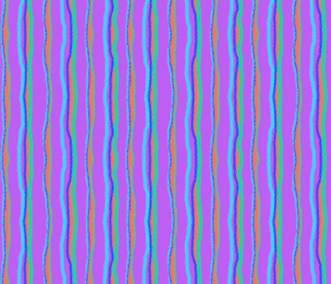Bright Stripe-Purple fabric by mammajamma on Spoonflower - custom fabric