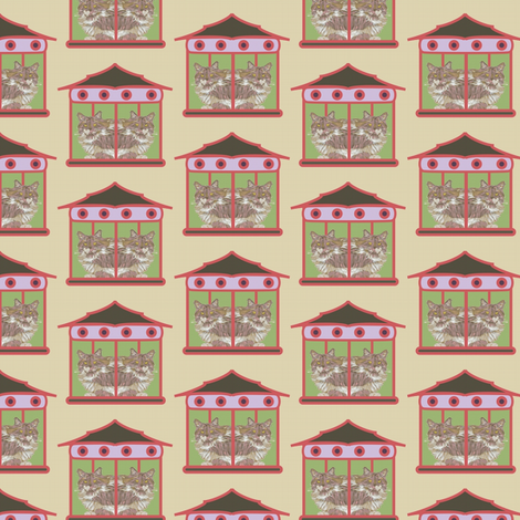 House Divided fabric by david_kent_collections on Spoonflower - custom fabric