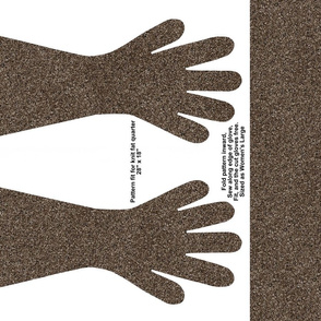 Dark Brown Specked Gloves