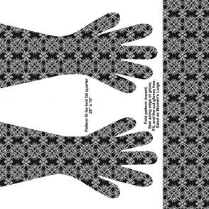 Dark Lace Gloves