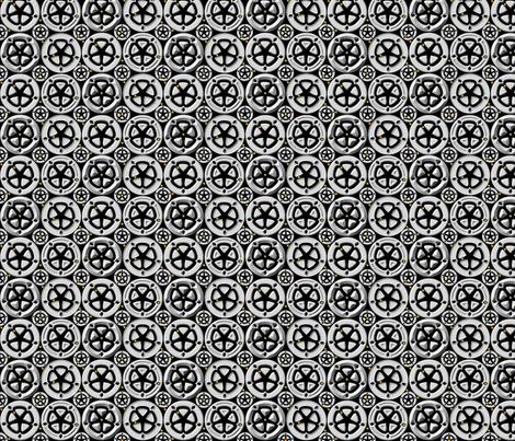 wheel5 fabric by glimmericks on Spoonflower - custom fabric