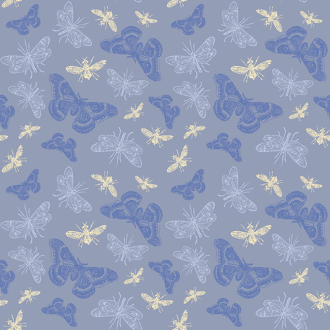 INSECTS fabric by natasha_k_ on Spoonflower - custom fabric