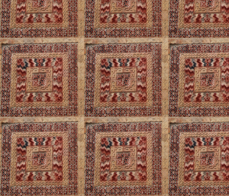 Damascus old town fabric by rachelrm on Spoonflower - custom fabric