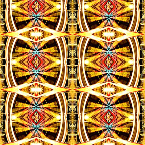 Ferris Wheel Lights fabric by glennis on Spoonflower - custom fabric