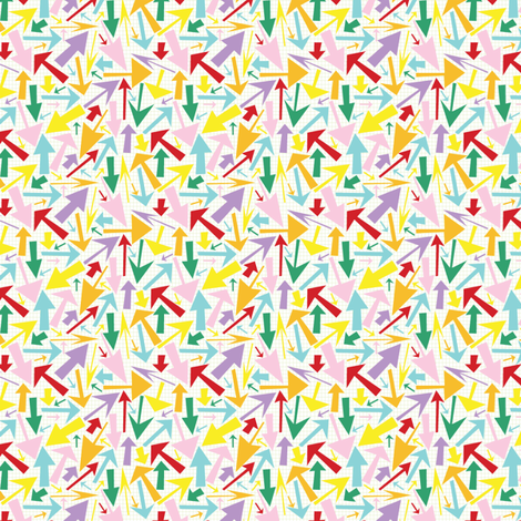 arrowpatterntile fabric by tammiebennett on Spoonflower - custom fabric
