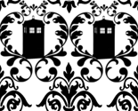 Phone Box damask