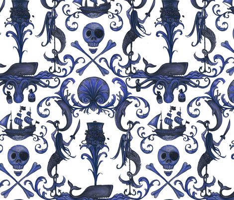 Rococo and a Bottle of Rum: Navy