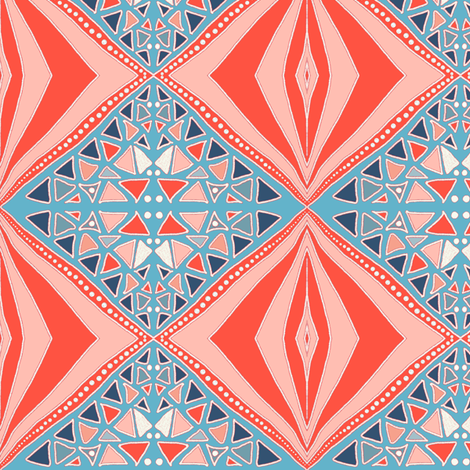 Summer Down Under by Su_G fabric by su_g on Spoonflower - custom fabric