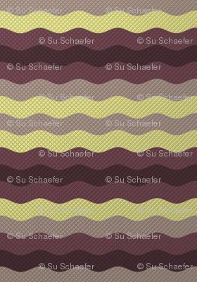 Wide winter waffle stripe