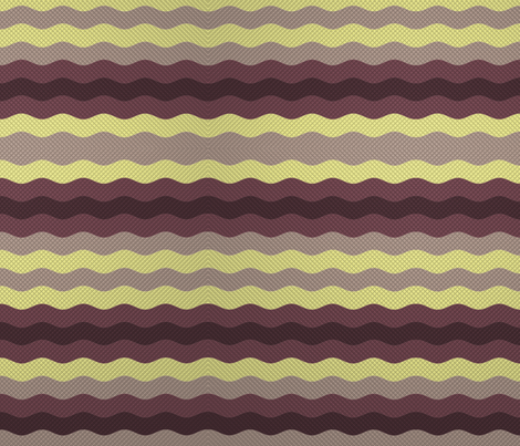 Wide winter waffle stripe fabric by su_g on Spoonflower - custom fabric