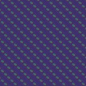 mosaicstripe peacock