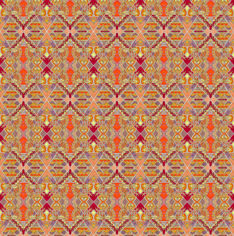 Southwestern Sunshine fabric by edsel2084 on Spoonflower - custom fabric